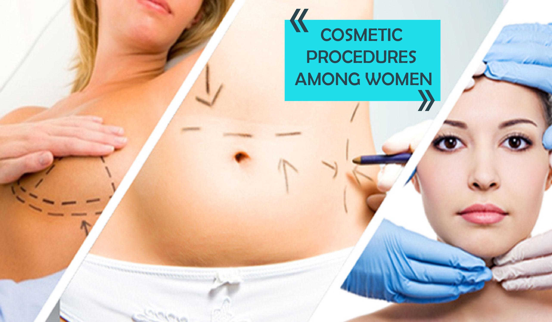 05 Cosmetic Procedures among women